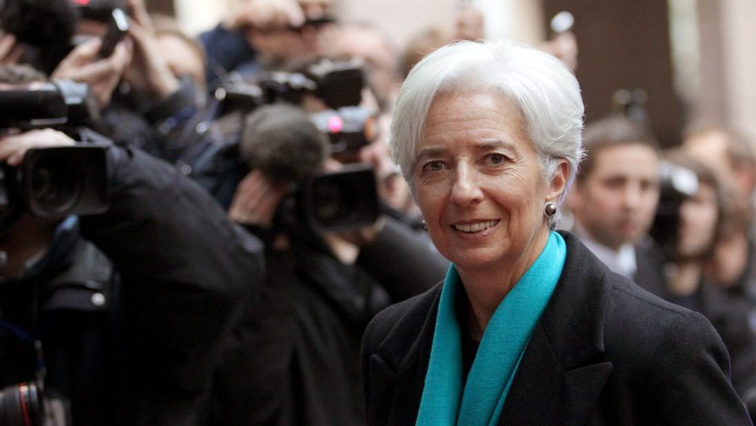 Šéfka MMF Christine Lagardeová
