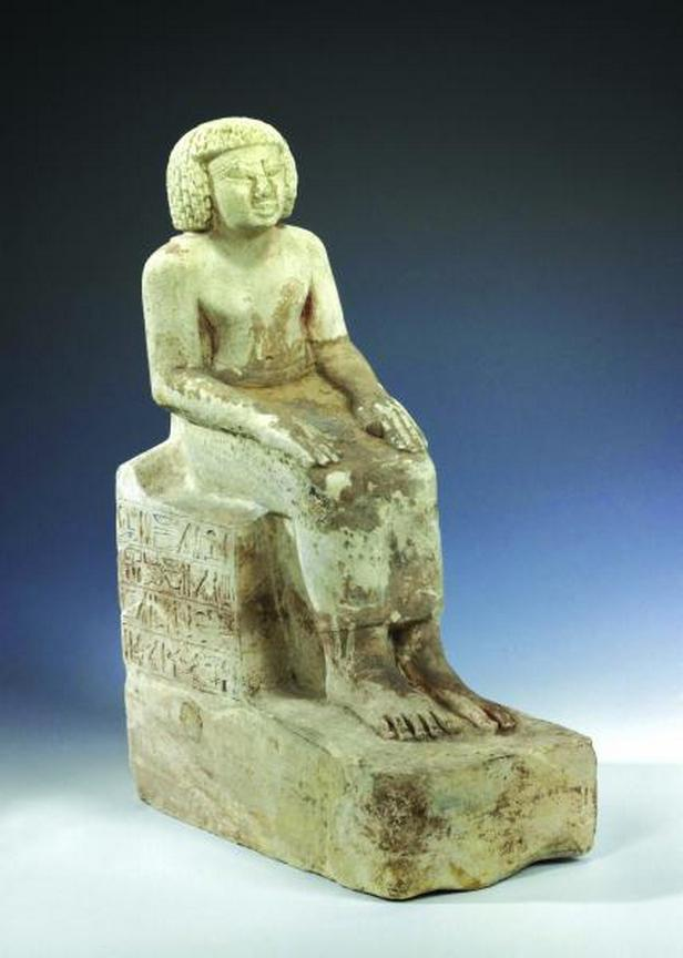 Z výstavy Země černých faraonů
