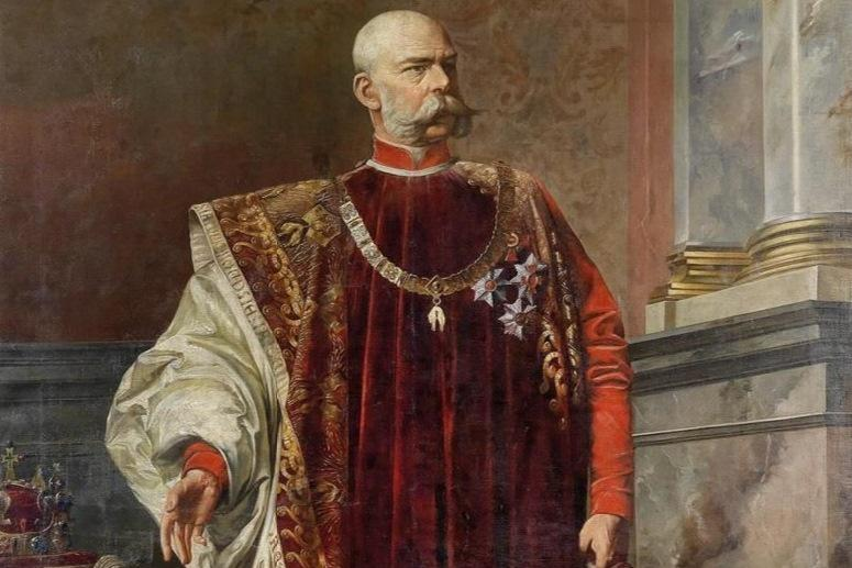 Tinzmannův portrét Františka Josefa