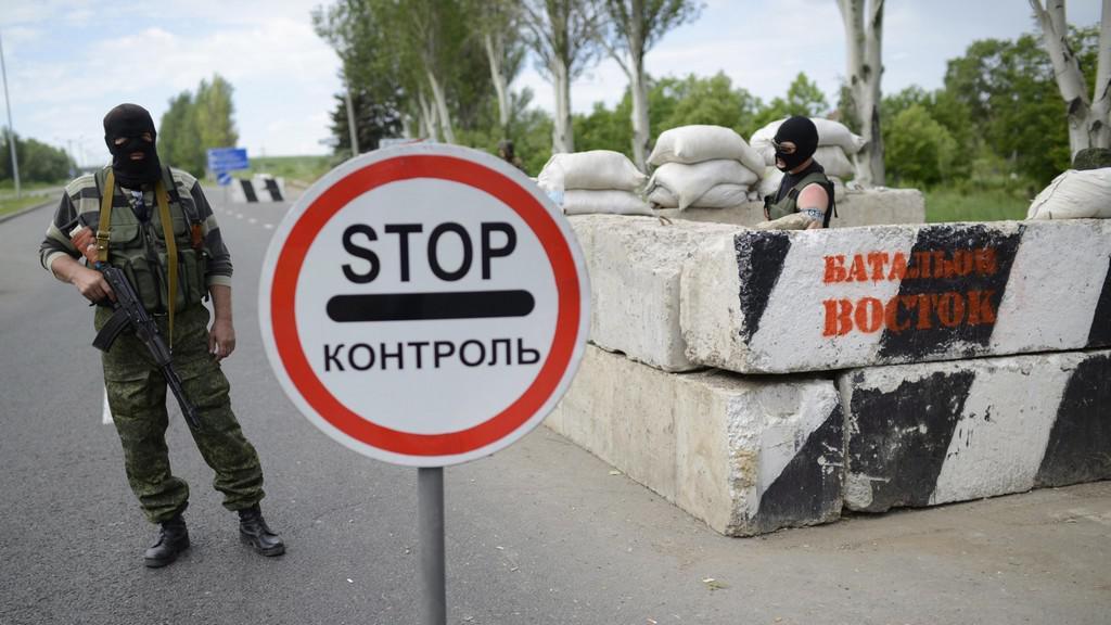 Kontrolní stanoviště separatistů