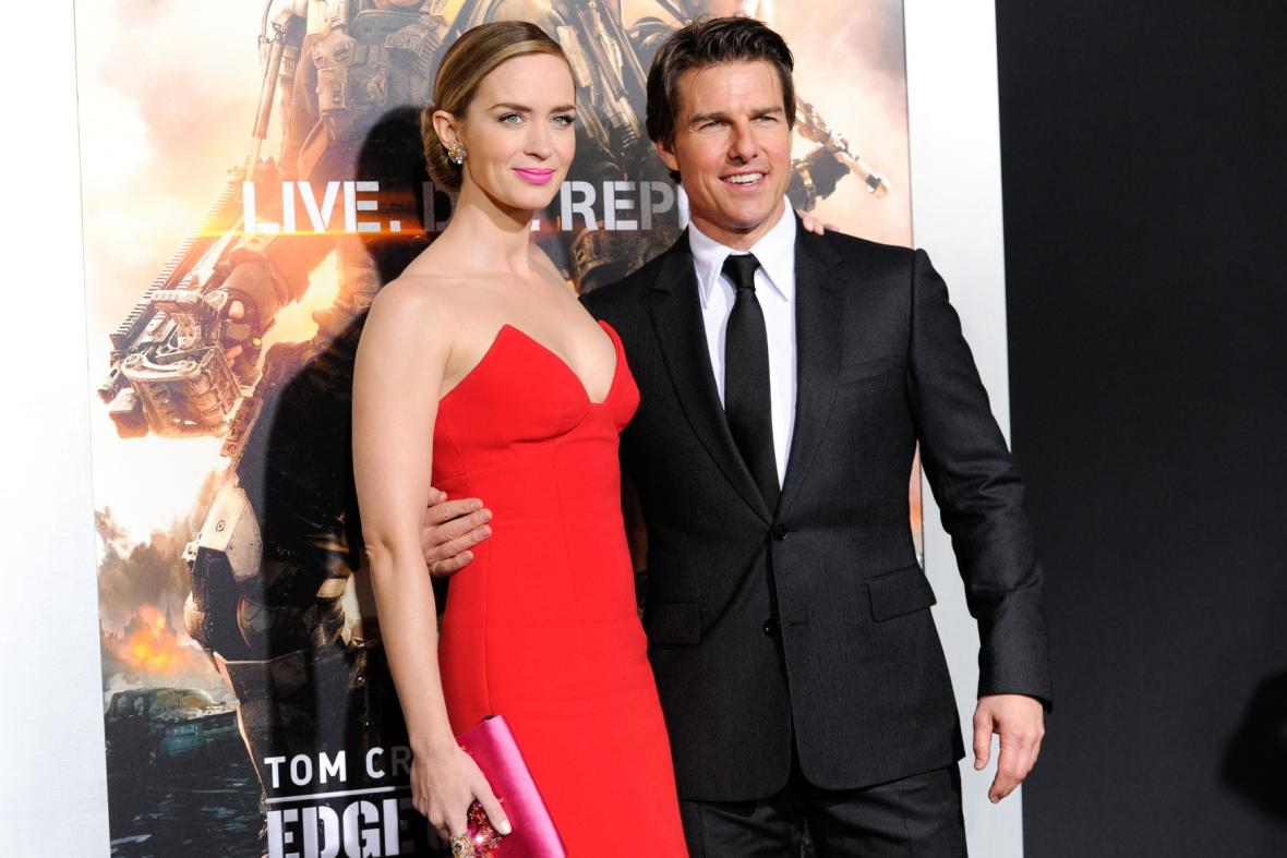 Tom Cruise a Emily Bluntová