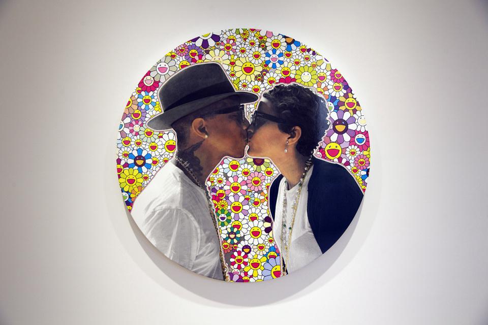 Pharrell Williams s manželkou