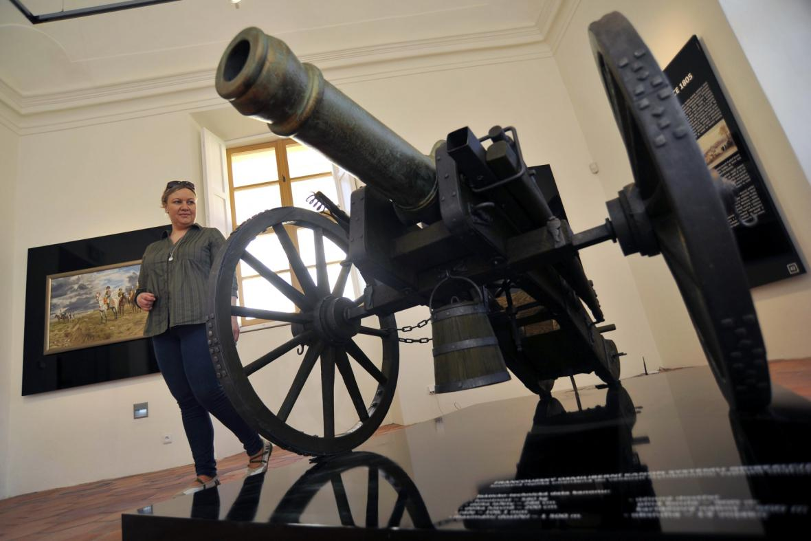 Původní expozice Austerlitz na zámku Slavkov