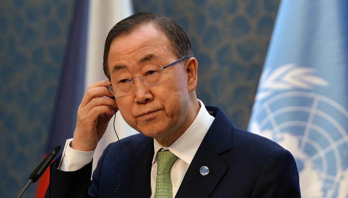 Generální tajemník OSN Pan Ki-mun
