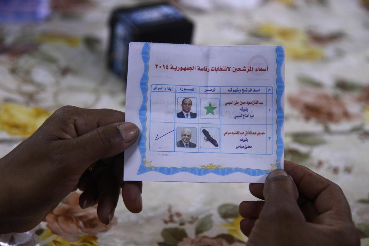 Egypt sčítá hlasy prezidentských voleb