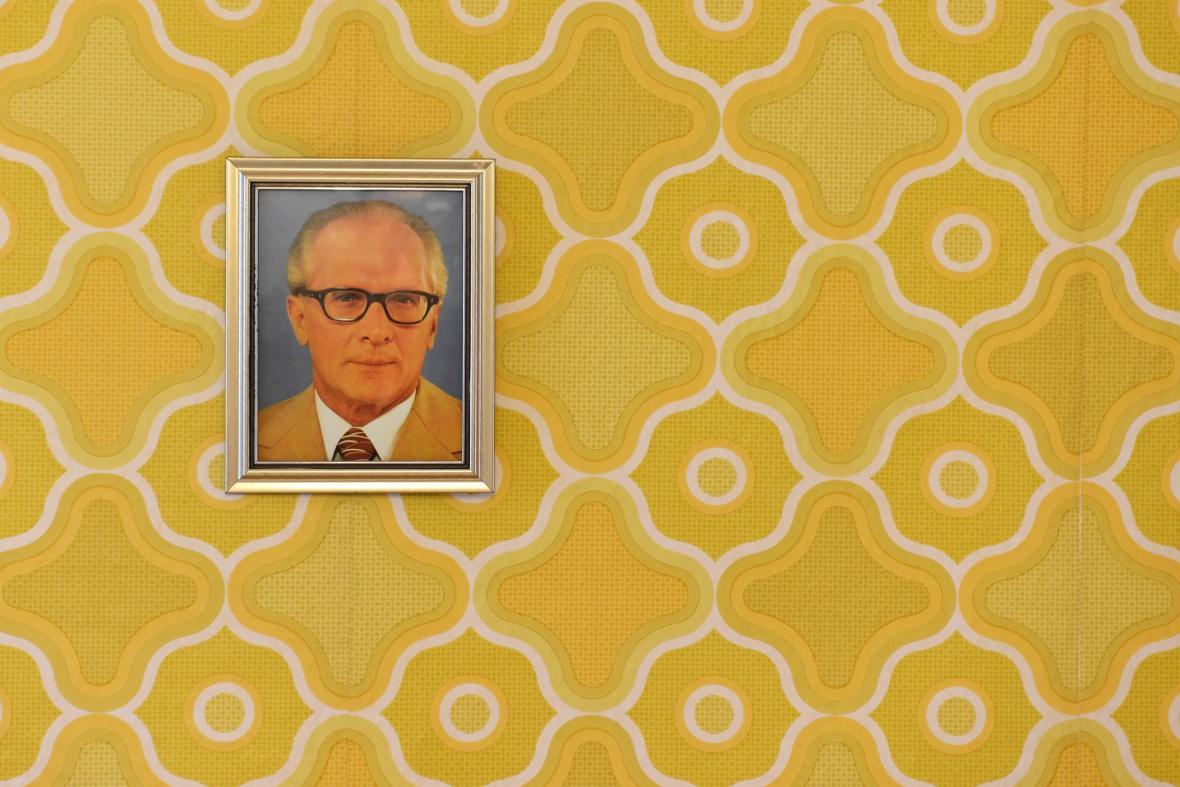 Portrét Ericha Honeckera