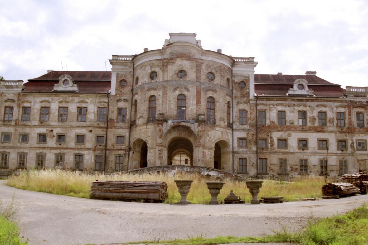 Zámek Týnec u Klatov