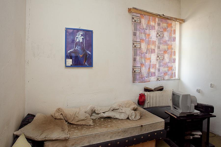 Ubytovna pro sociální případy na ulici Lounská ve Varnsdorfu