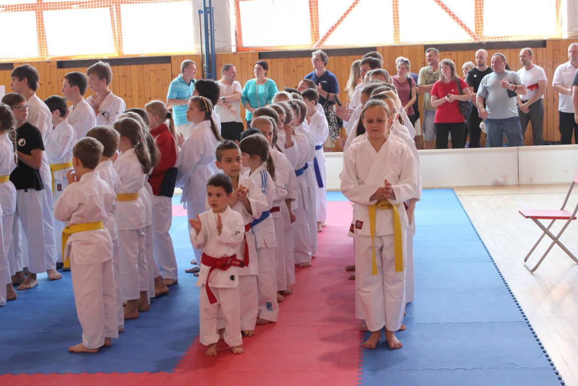 Z Těšínského poháru mládeže - karate