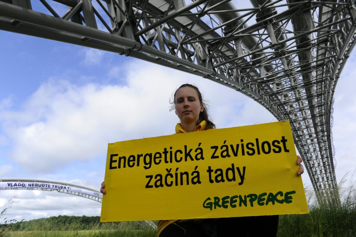 Happening hnutí Greenpeace