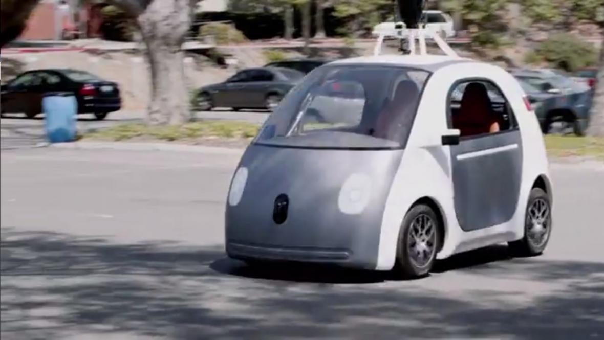 Automatické vozítko od Googlu