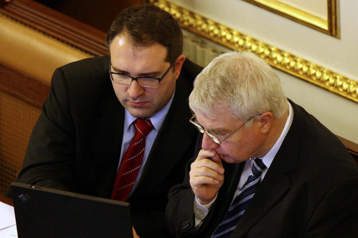 Michal Pohanka a Miloš Melčák