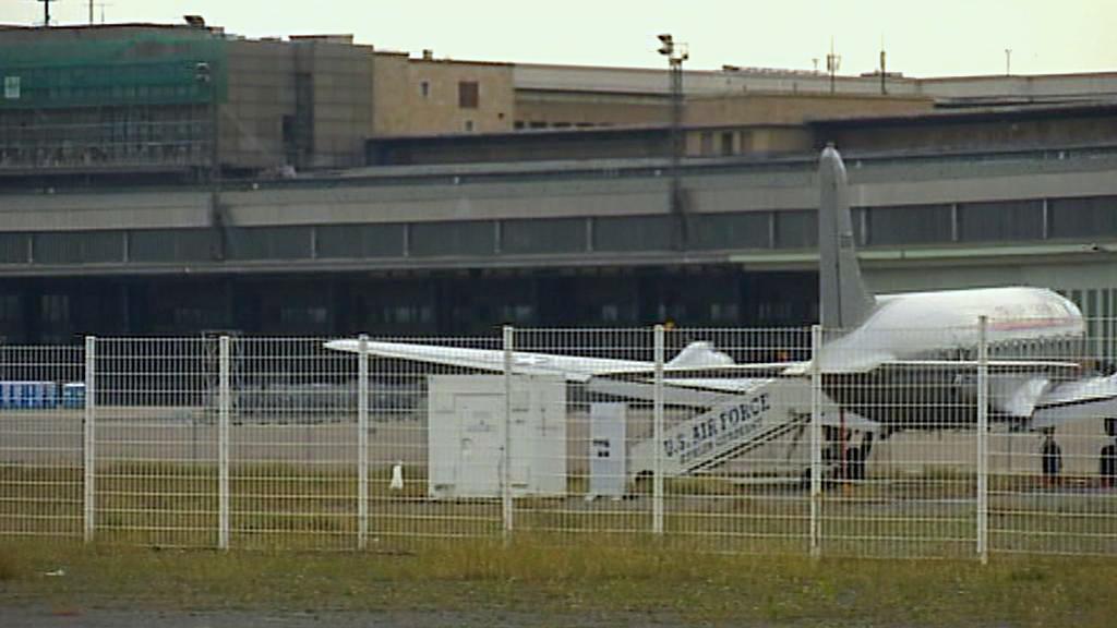 Bývalé berlínské letiště Tempelhof