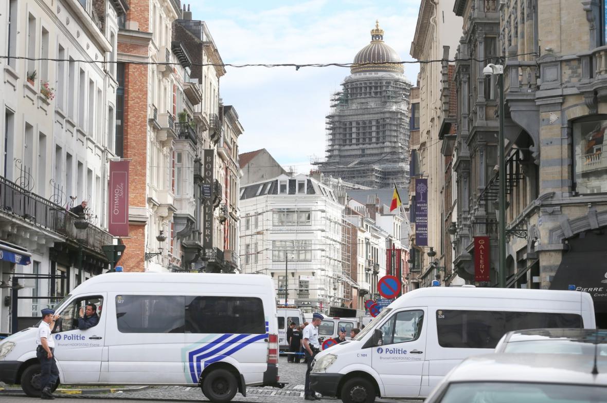 Střelba v židovském muzeum v Bruselu