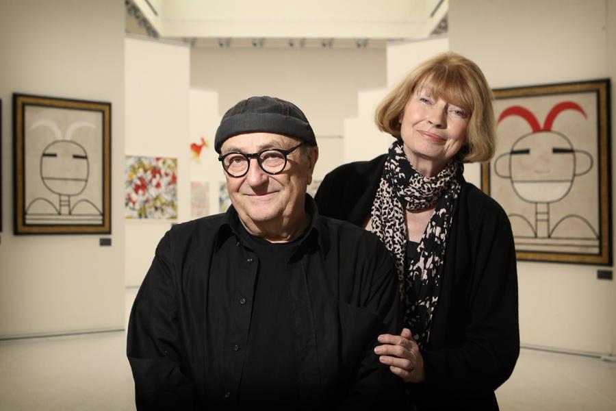 Ivan Steiger s manželkou