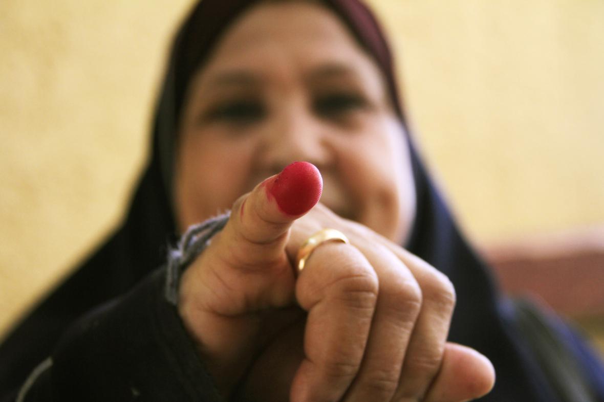 Egyptská volička