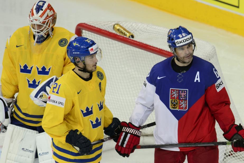 Jaromír Jágr v utkání o bronz se Švédy