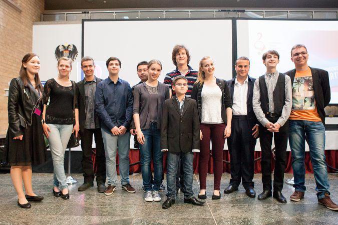 Soutěžící Eurovision Young Musicians 2014