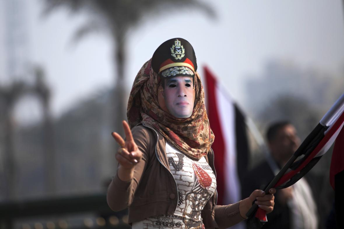 Stoupenkyně Abdala Fattáha Sísího