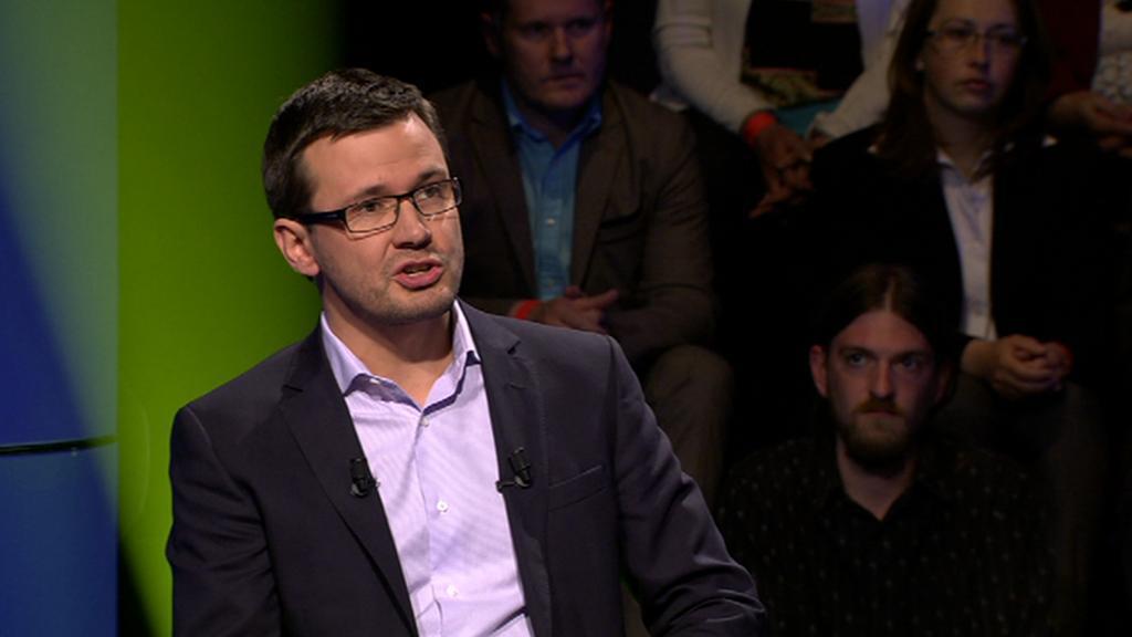 Ondřej Liška, lídr kandidátky Zelených