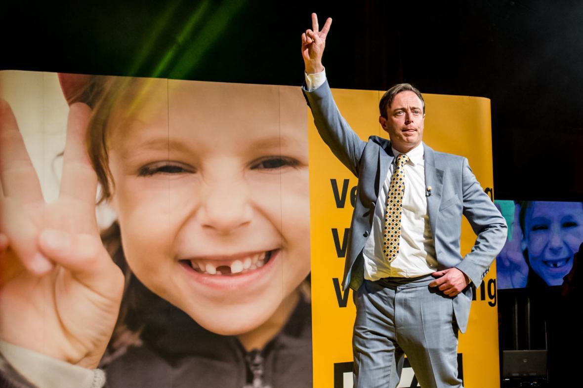 Šéf NVA Bart De Wever