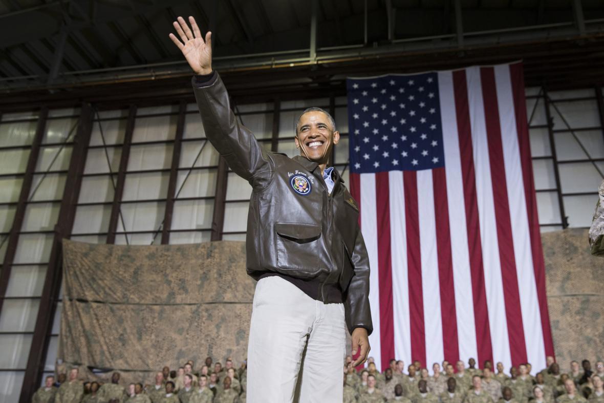 Barack Obama přiletěl do Afghánistánu