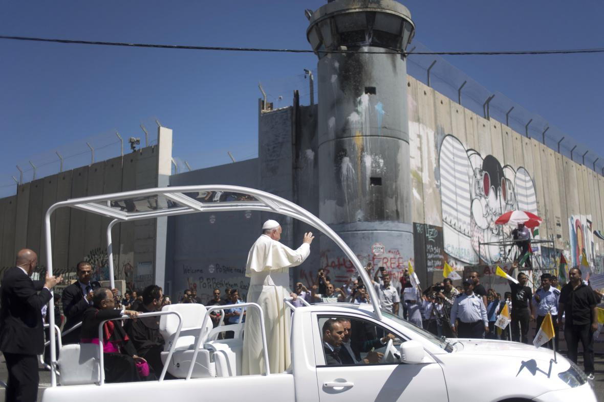 Papež v Betlémě