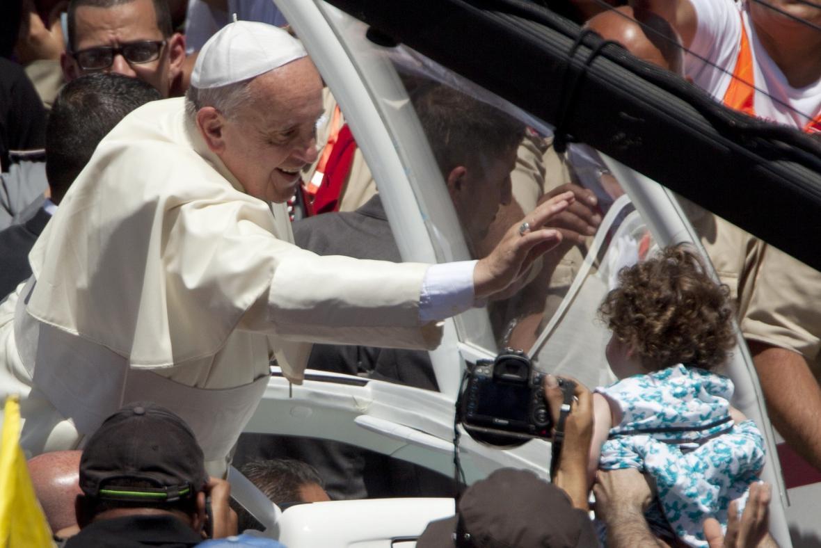 Papež František na Blízkém východě