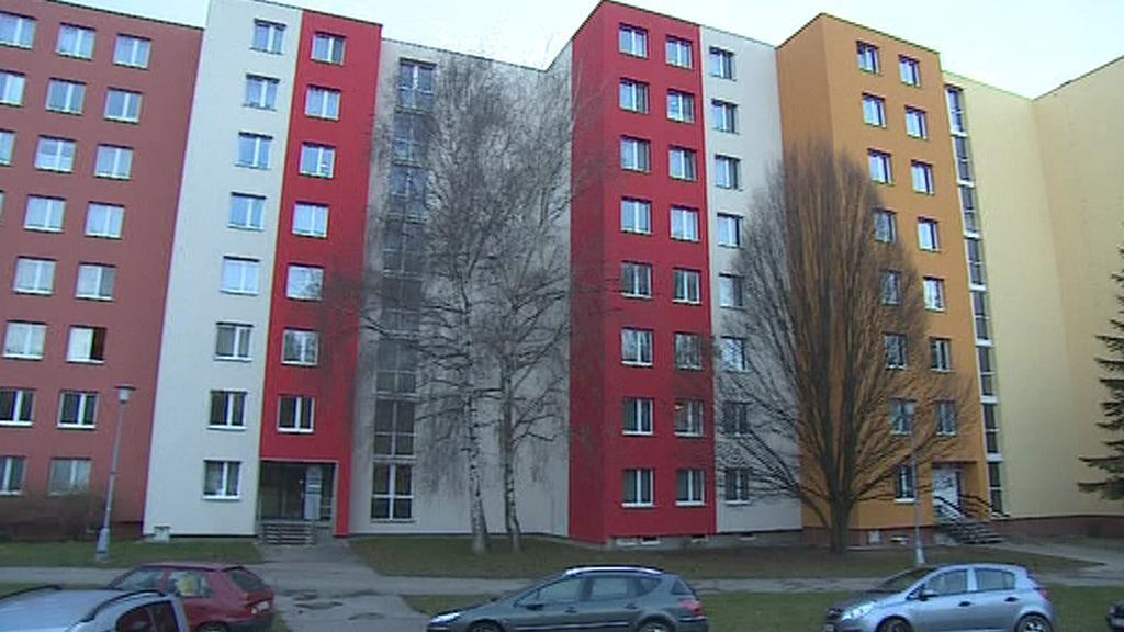 Domy bytového družstva Družba