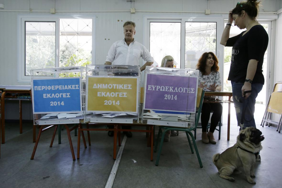 Eurovolby v Řecku