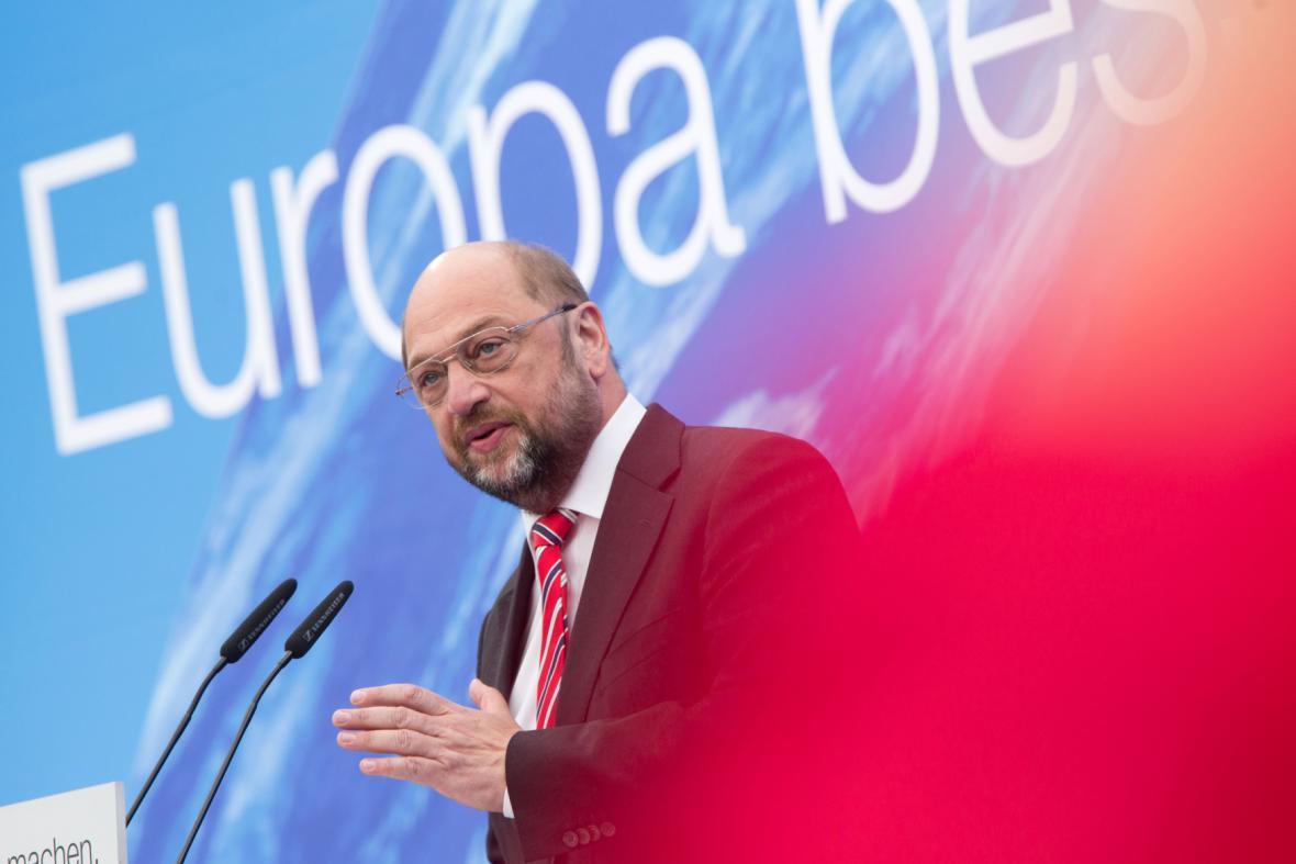 Martin Schulz - hlavní kandidát na šéfa Evropské komise