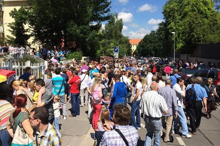 Ukrajinské volby v Praze
