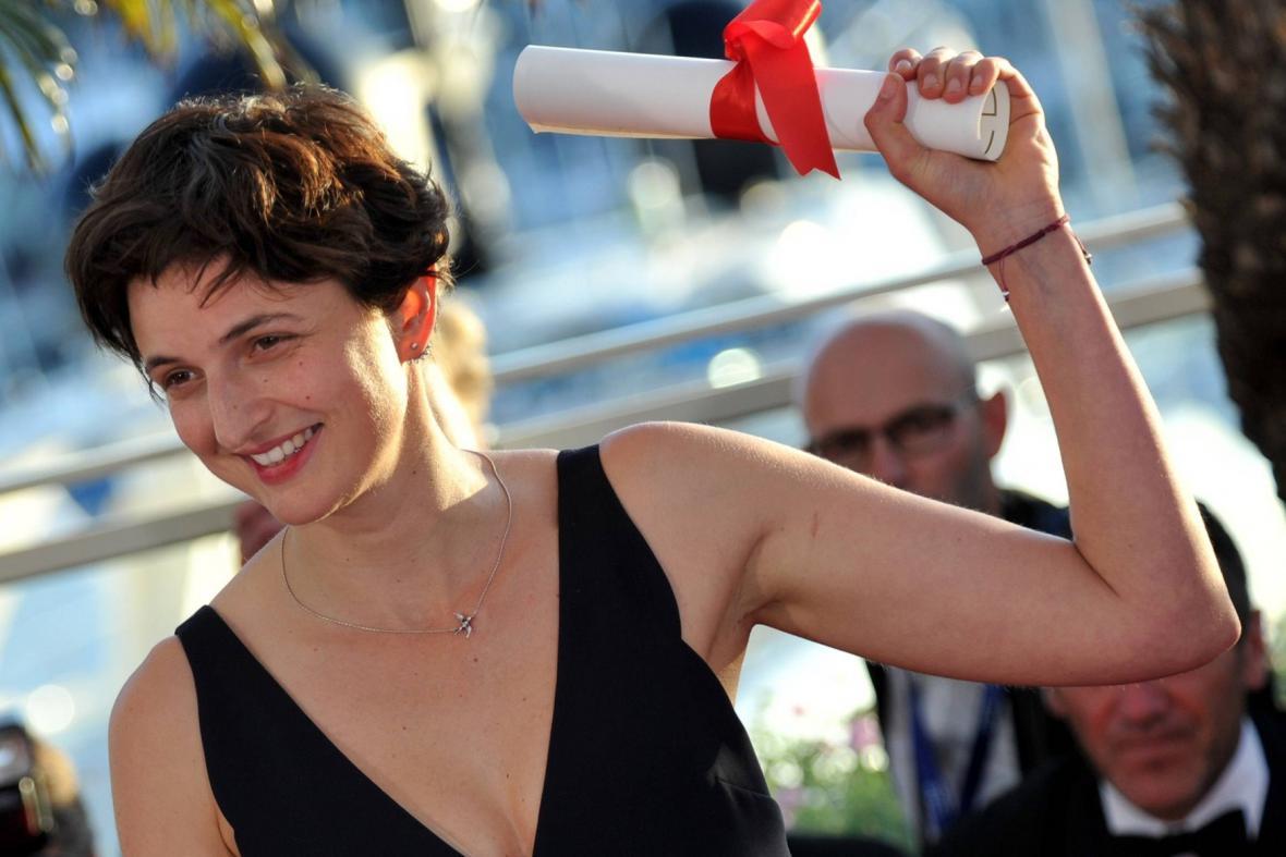 Vítězka Velké ceny Alice Rohrwacherová