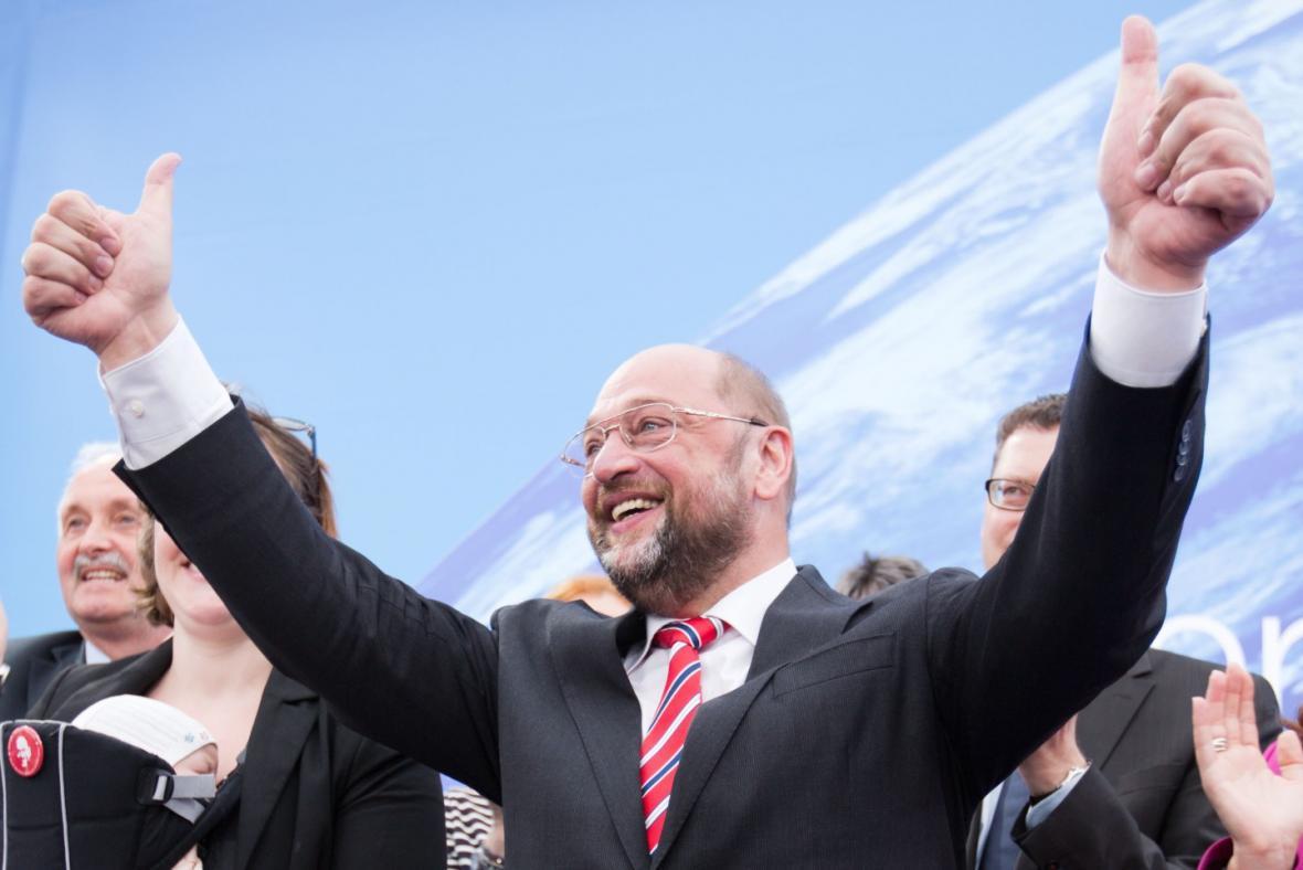 Kandidát na šéfa Evropské komise Martin Schulz