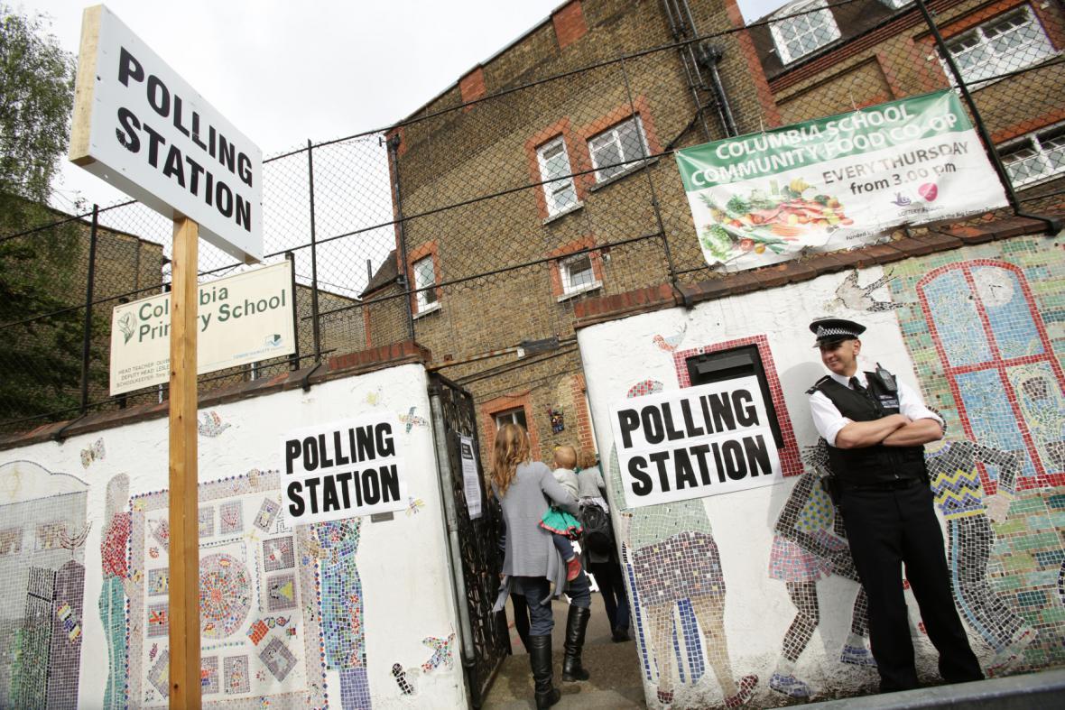 Eurovolby ve Velké Británii