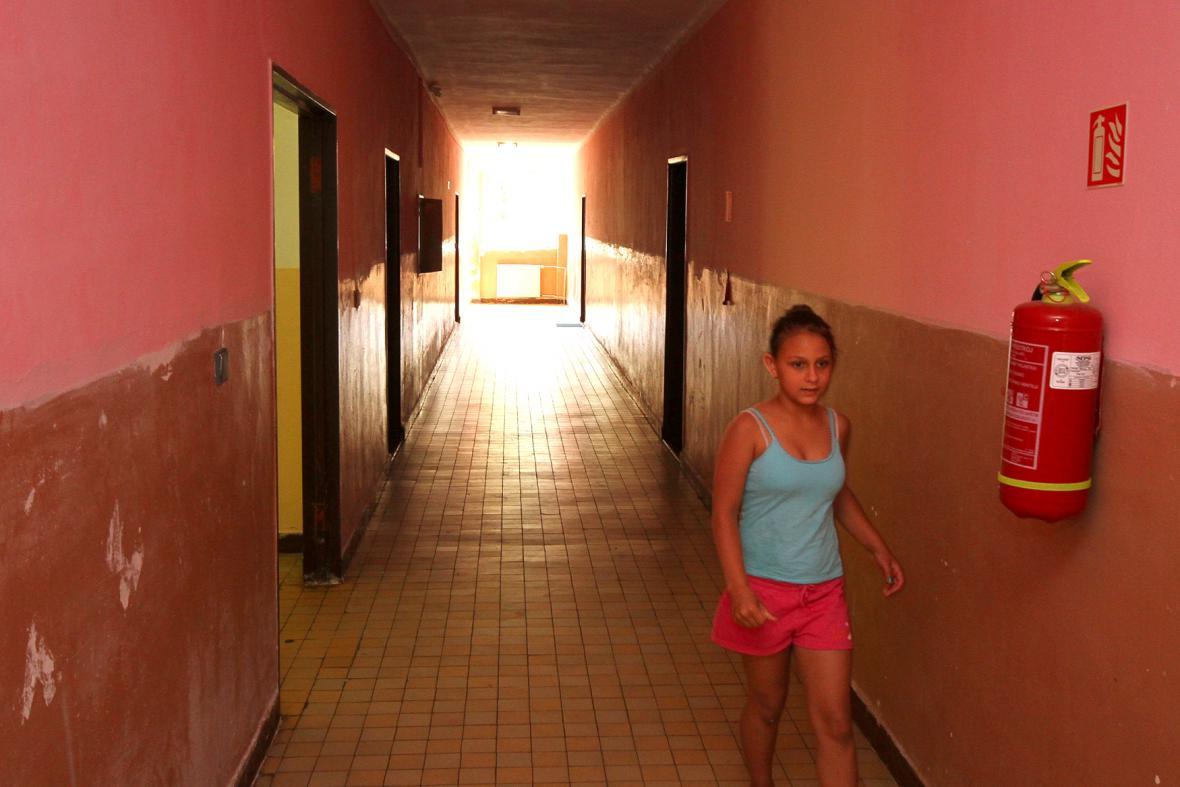 Uprchlický tábor Červený újezd v Hrobčicích