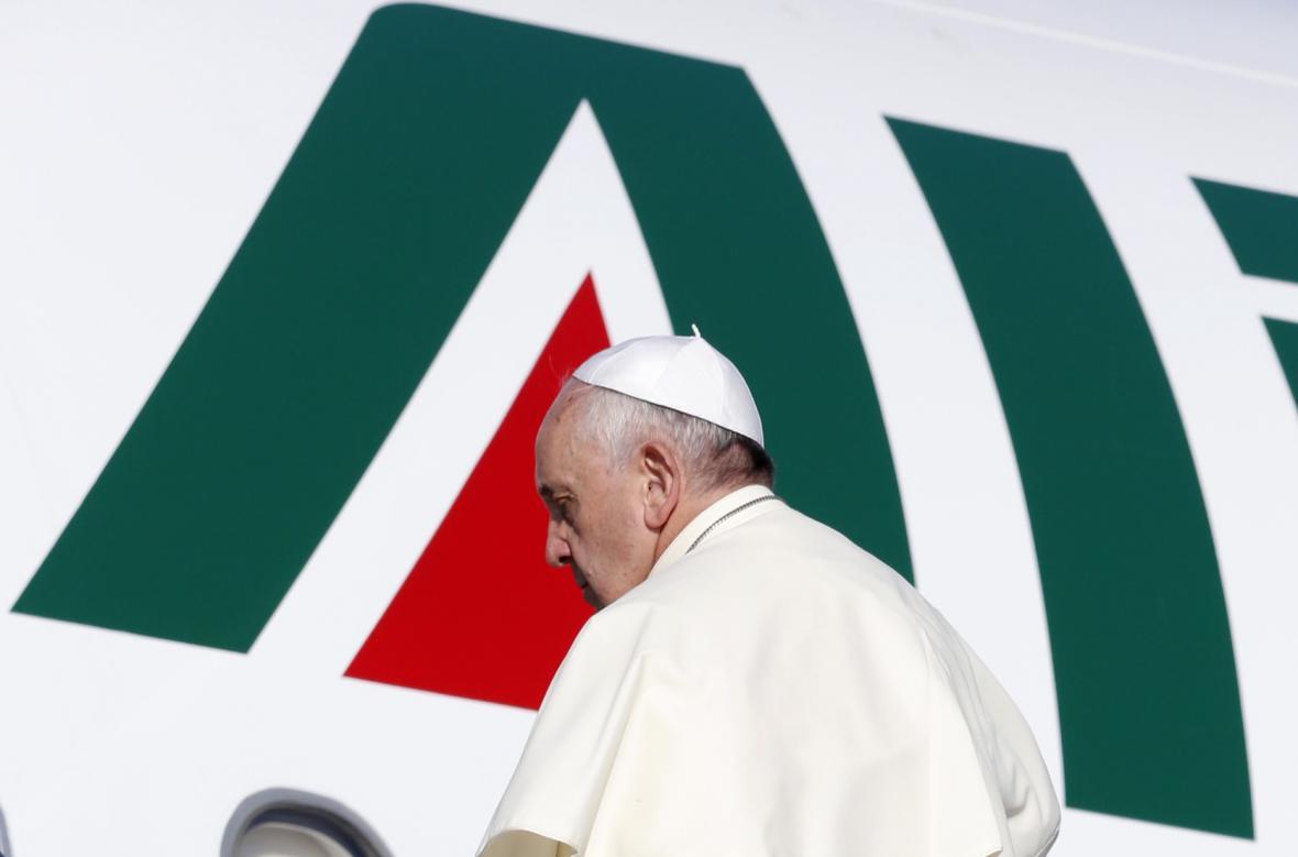 Papež František na návštěvě Jordánska