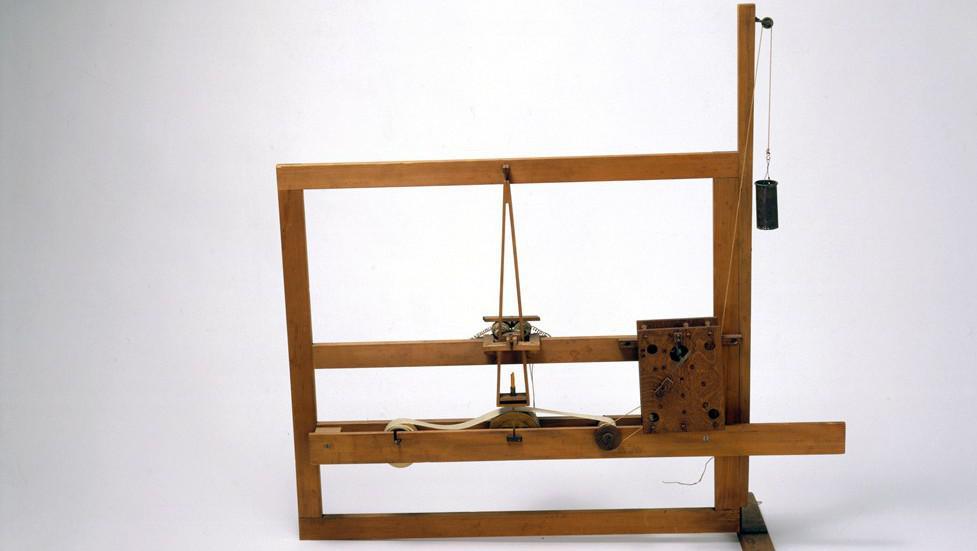Morseho telegraf z roku 1835