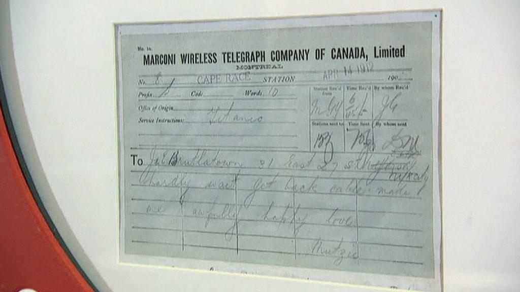 Telegramy z Titanicu