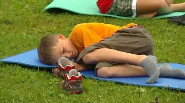 Děti s hemofilií na táboře