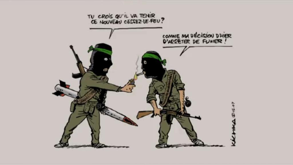 Karikatura Michaela Kichky