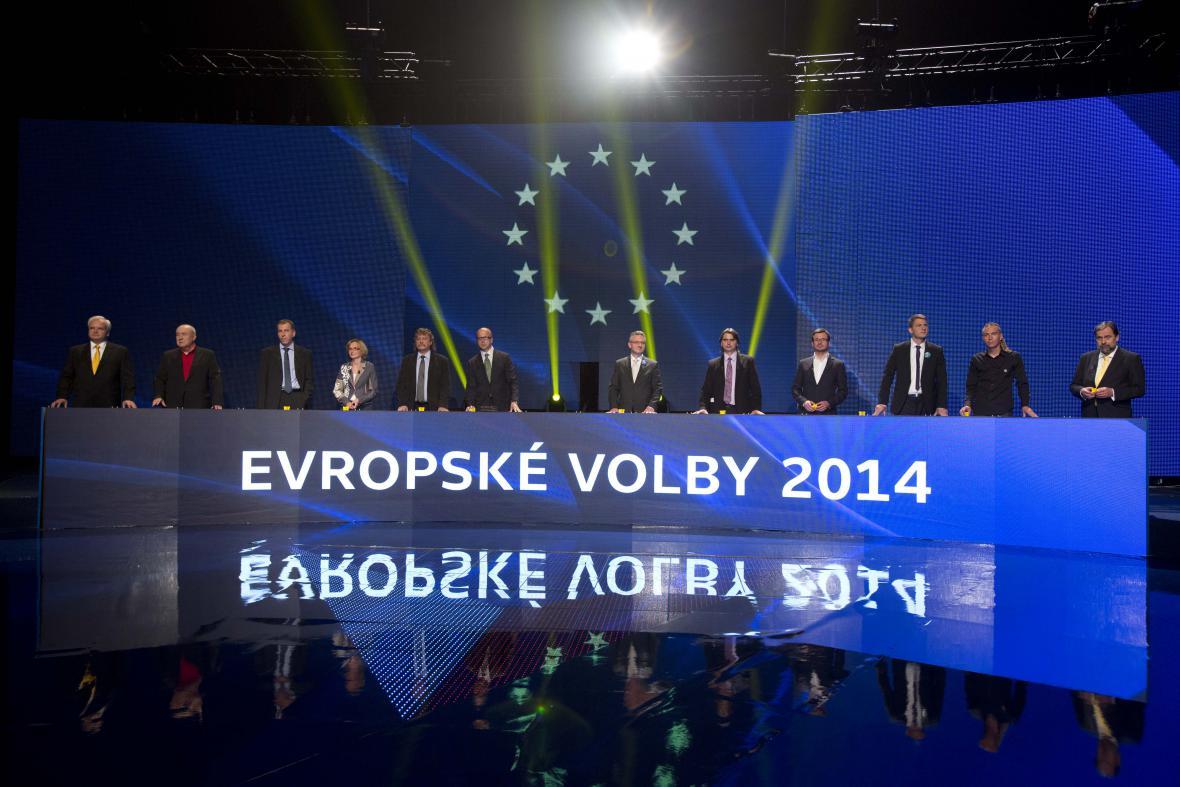 Evropská superdebata České televize