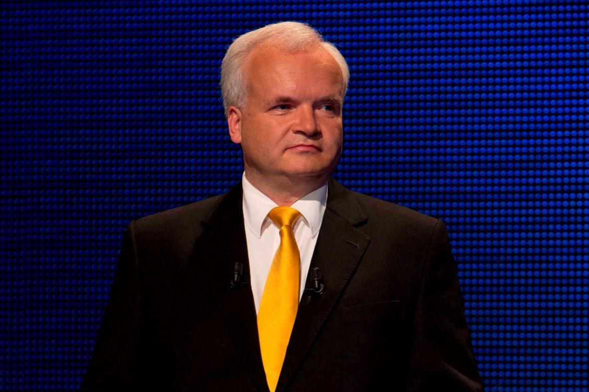 Lídr evropské kandidátky lidovců Pavel Svoboda