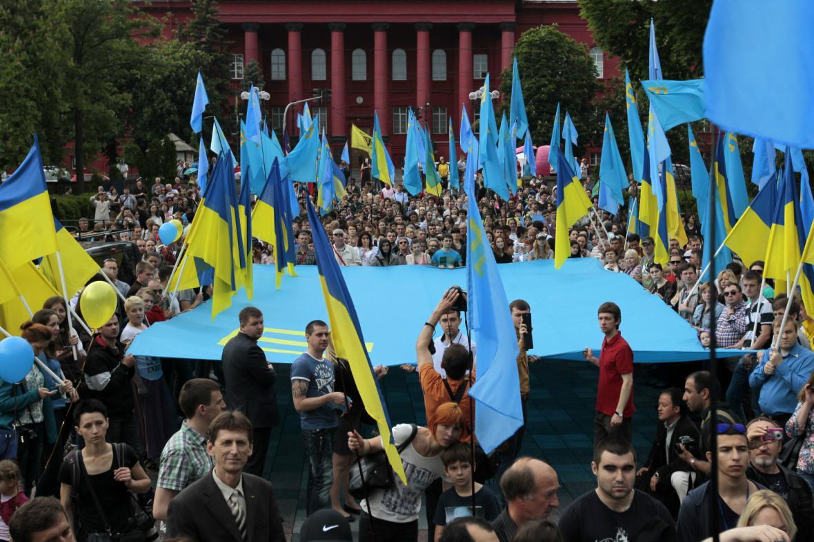 Krymští Tataři si připomněli výročí deportací