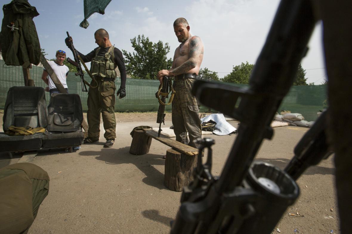 Radikálové ve Slavjansku