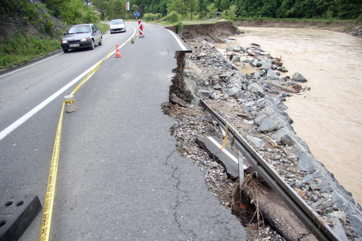 Záplavy v Republice srbské