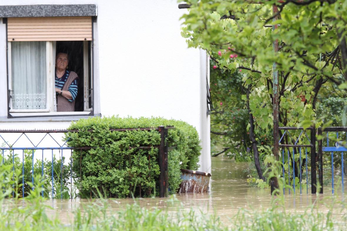 Záplavy postihly Bosnu a Hercegovinu