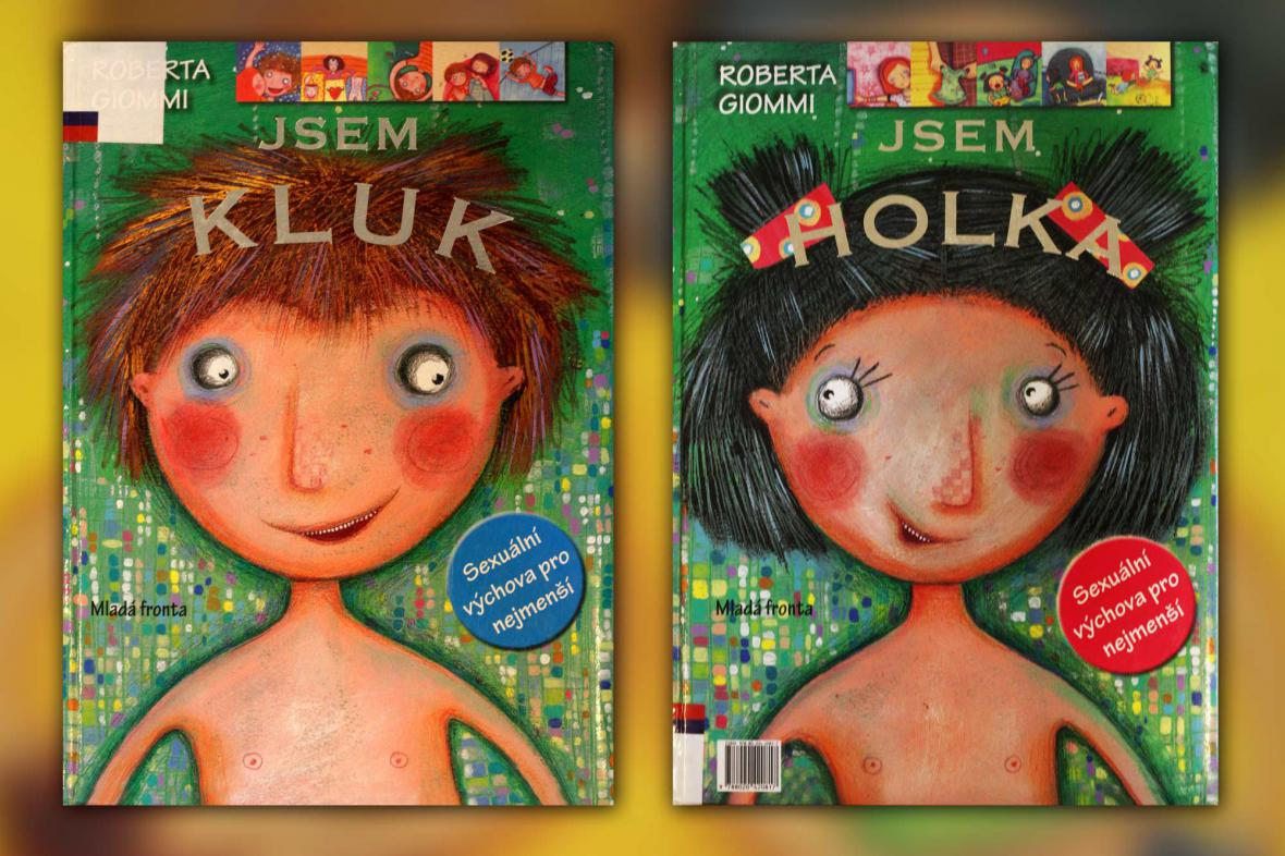 Sexuální výchova - knihy Jsem kluk a Jsem holka