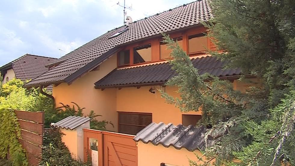 Dům v Brně-Ivanovicích, kde ke čtyřnásobné vraždě došlo