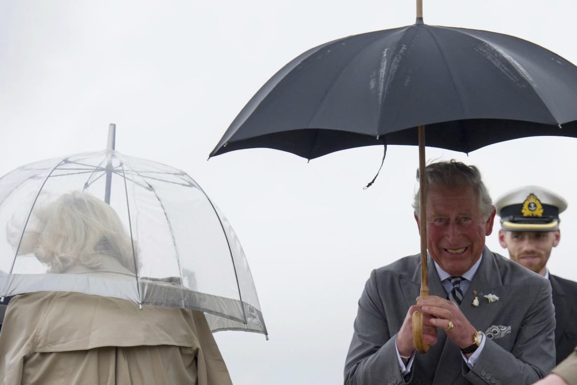 Princ Charles na návštěvě Kanady